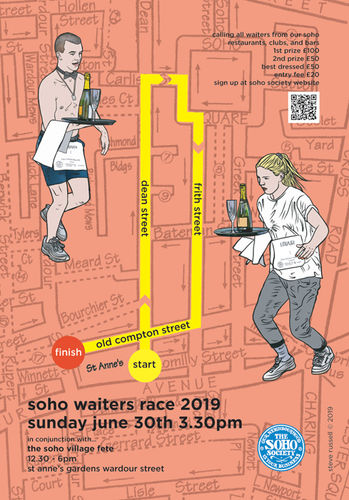 the soho waiters race 2019