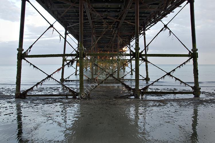 Under Worthing Pier
