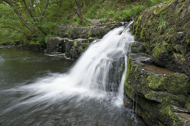 Afon Pyrddin Cascades I