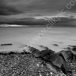 Looking out from Clevedon Beach