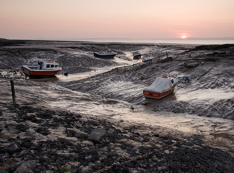 Low Tide at the Pill