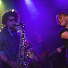 Jake Clemons with Mitchel Emms