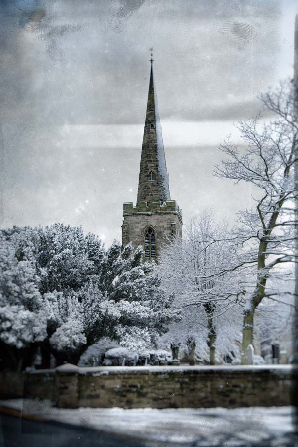St Catherine's Church In Winter