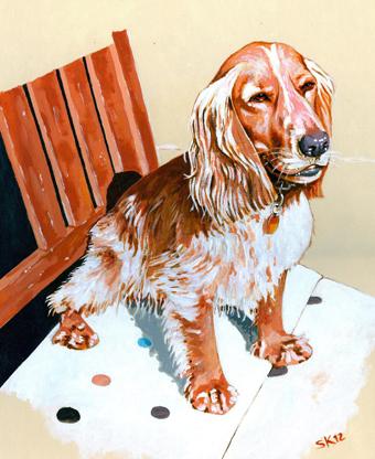Commissioning artwork - People & animals