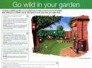 Garden Wildlife Leaflet - Bracknell Forest Council - Acrylic