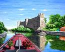 Newark Castle - Mixed media