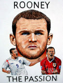 Rooney - The Passion - Acrylic