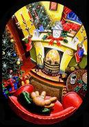 Christmas card - Mixed media