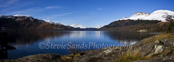 Scotland, Rowardenan, Loch Lomond, Ben Lomond