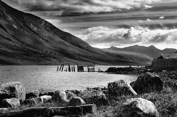 Scotland, Glen Etive, Loch Etive