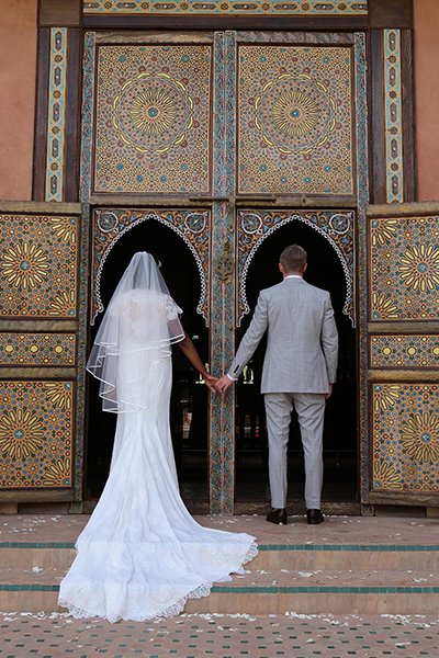 BRIDE AND GROOM PALAIS AZIZA