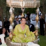 Bride throne Marrakesh