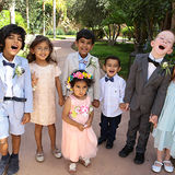 CHILDREN AT A WEDDING