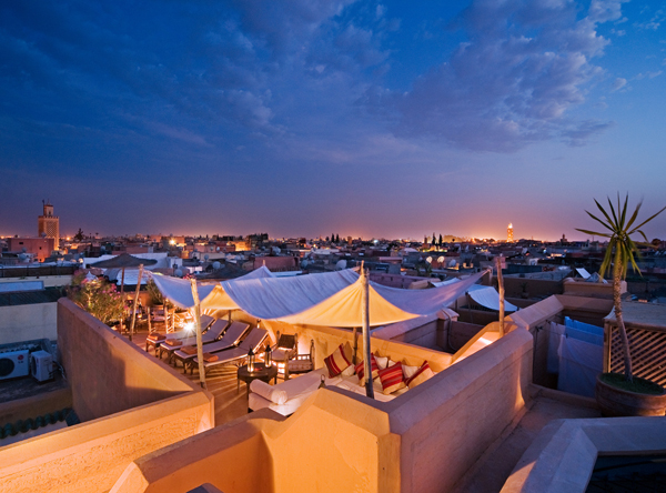 Roof terrace Dar Hanane