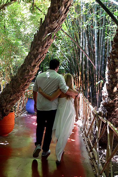 ENGAGED JARDIN MAJORELLE2