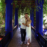 ENGAGED JARDIN MAJORELLE