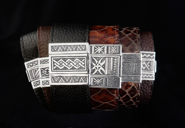 Joanna Bristow Jewellery leather and silver bracelets