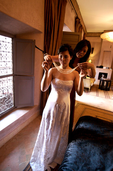 PREPARATION BRIDE MARRAKECH