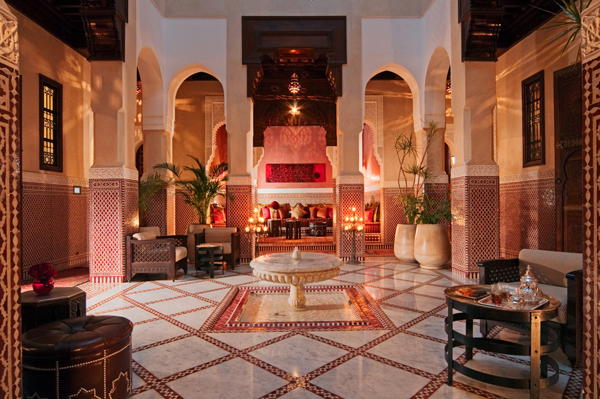 Royal Mansour Riad Courtyard