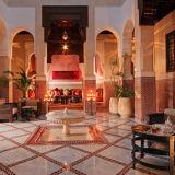 Royal Mansour Riad Courtyard
