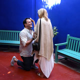 WEDDING PROPOSAL JARDIN MAJORELLE