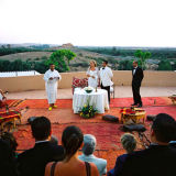 Wedding ceremony Kasbah Agafay Marrakesh
