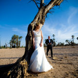 Wedding couple Palmeraie Marrakesh