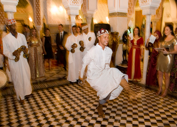 Wedding dancers Marrakesh
