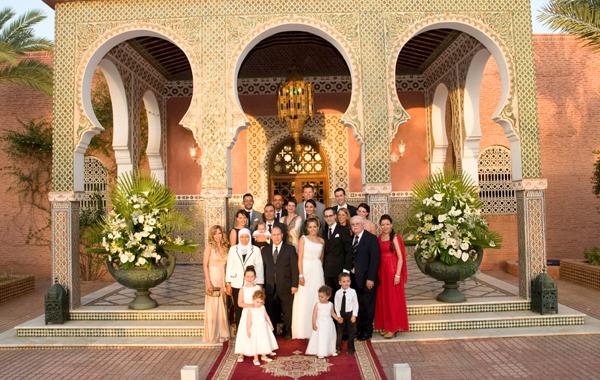 family portrait Morocco