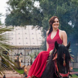 horseback Marrakesh wedding