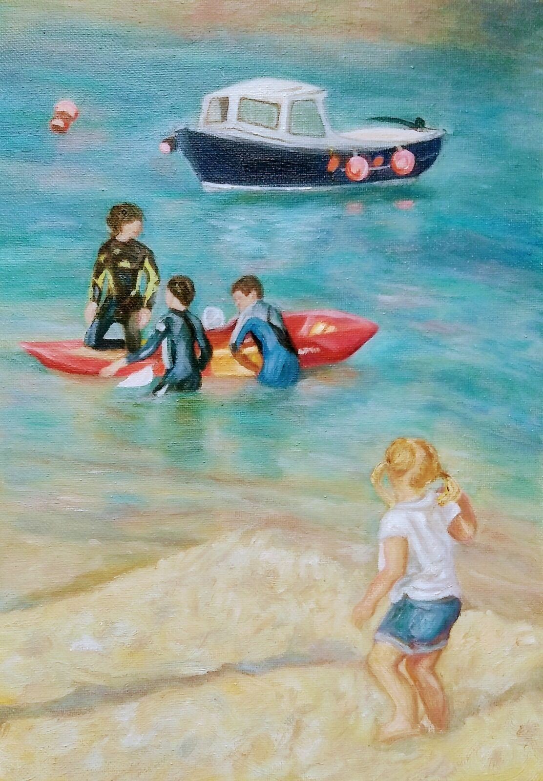 'Happy Days at Mousehole'