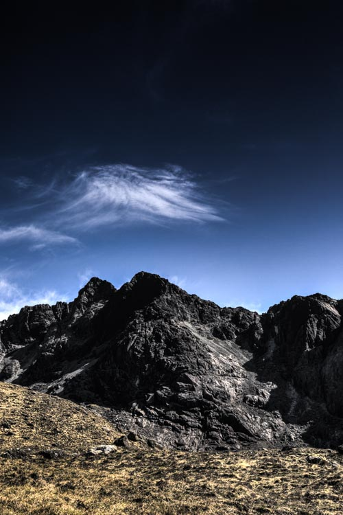The Cuillin from the Corrie Lagan #2