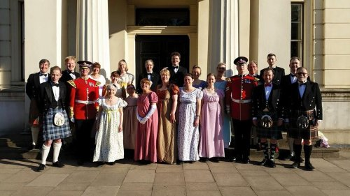 The Country dancers from Thursday 11th June 2015 for Beating Retreat