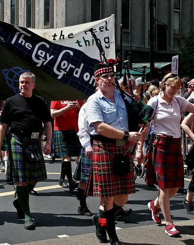 The Gay Gordons' Piper London Pride 2010