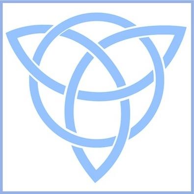 GGs Logo blue/ white