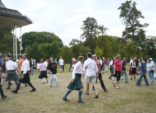 Pic-nic in the Park with RSCDS London