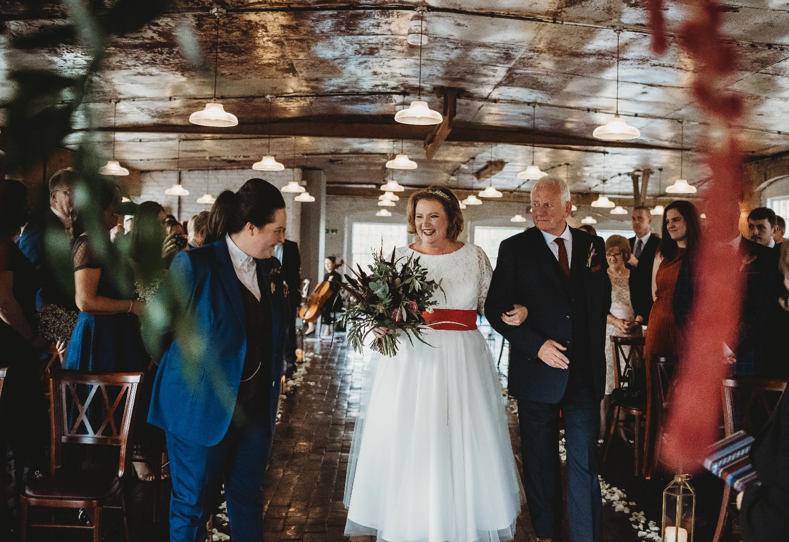 Derbyshire same sex wedding photography