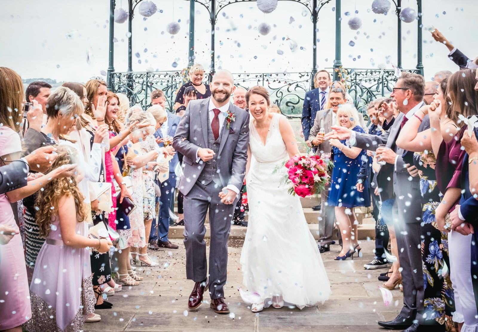 Yorkshire wedding photography at Cubley Hall