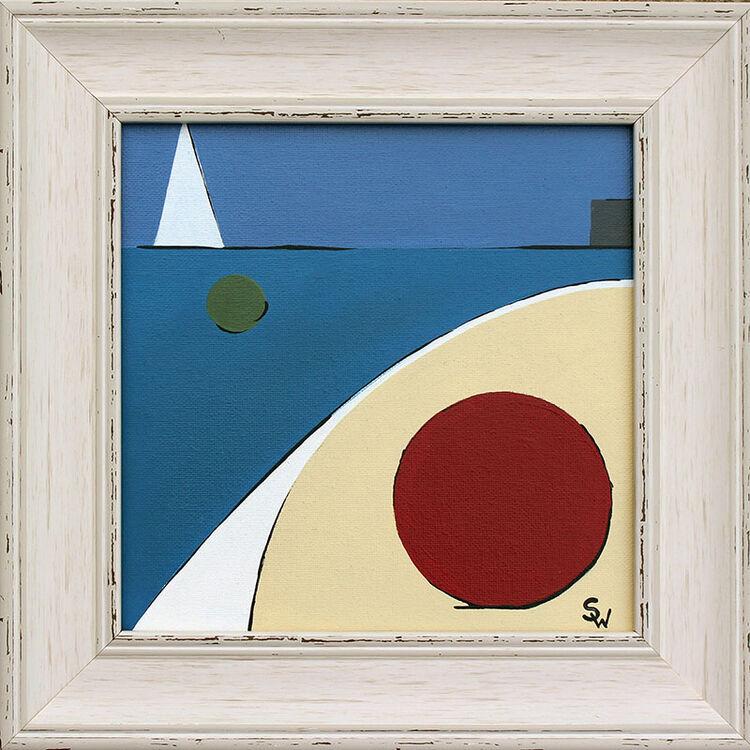TWO BUOYS BEMBRIDGE £95 (ARTIST)