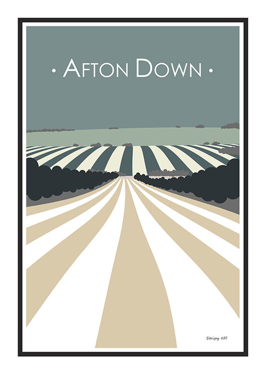 afton down