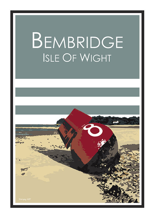 NO. 8 BUOY BEMBRIDGE