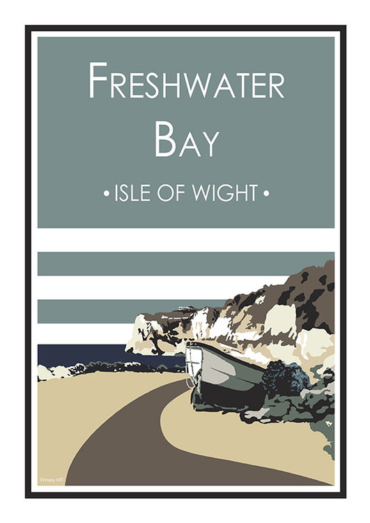 Freshwater Bay (blue) I.O.W