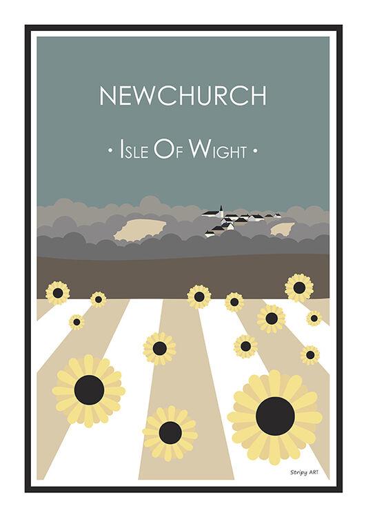 NEWCHURCH SUNFLOWERS