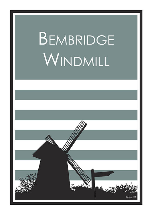 bembridge windmill (blue)