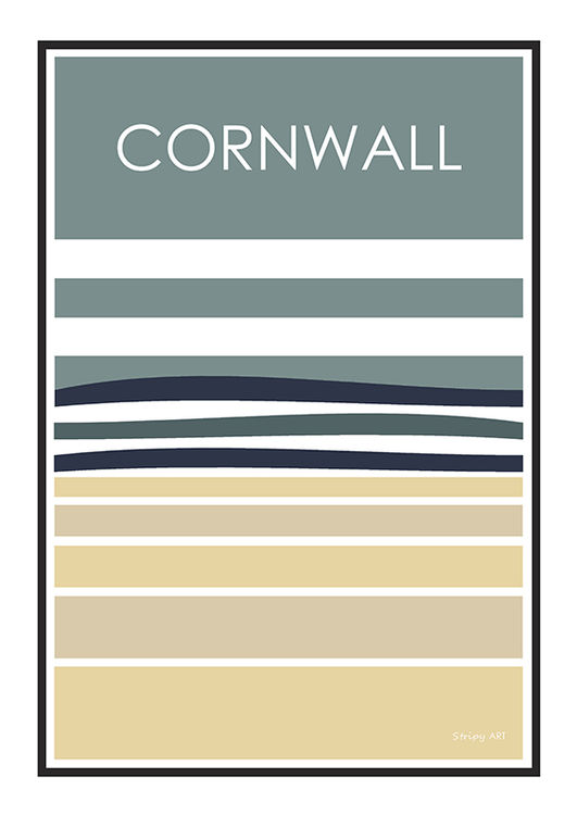 CORNWALL (STRIPE) BLUE