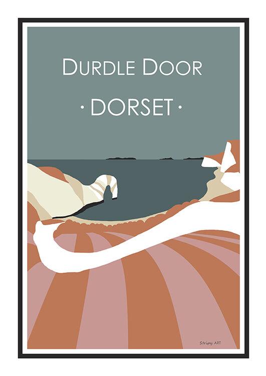 DURDLE DOOR STEPS (PINK)