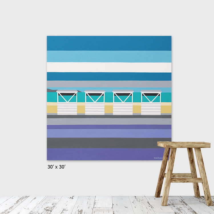 FOUR WHITE HUTS (SOLD)