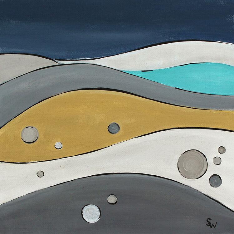 HAPPY DAYS AT CHESIL BEACH £50 (ARTIST)