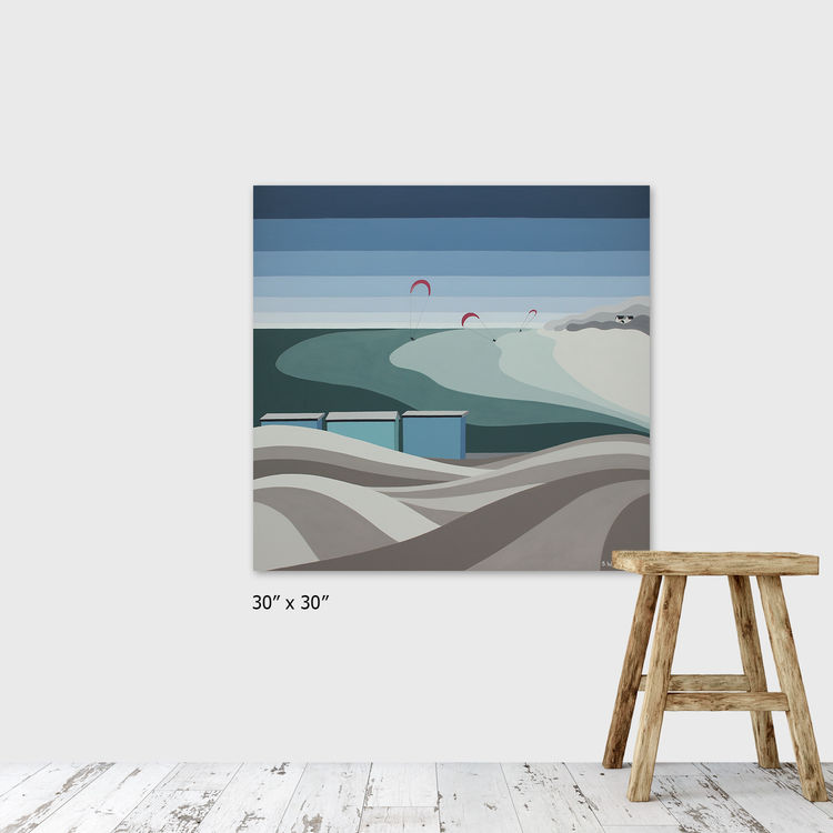 KITE SURFERS AT SILVERSANDS SOLD