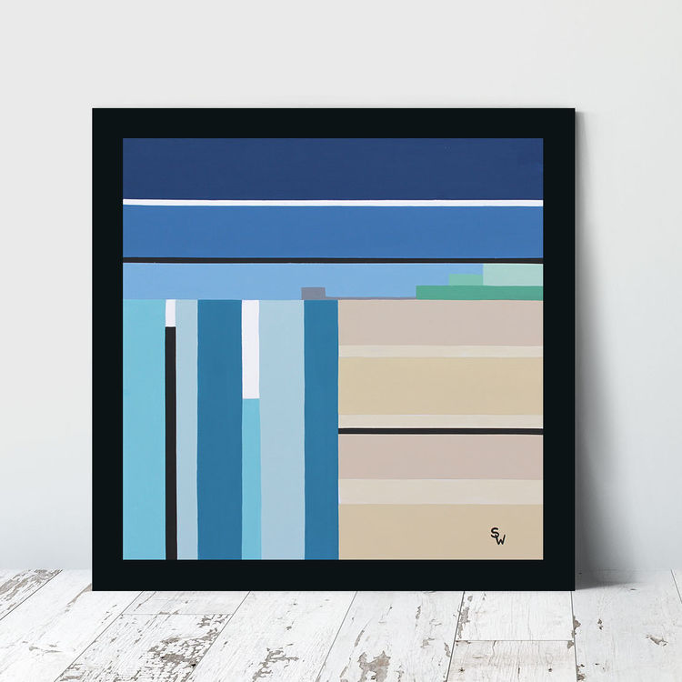 PRIORY BAY STRIPES £125 (artist)